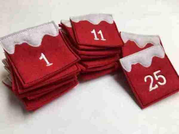 Advent Calendar Emoji Pocket Tutorial