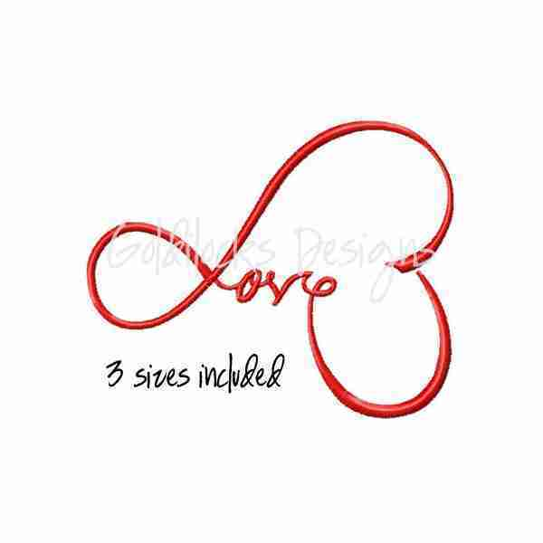 Love wedding valentine embroidery design